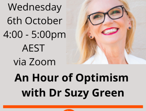 An Hour of Optimism with Dr Suzy Green