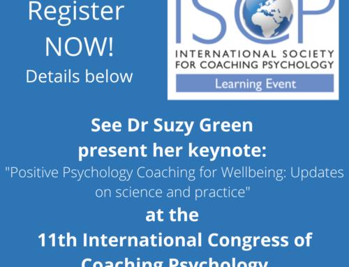 International Society for Coaching Psychology – 11th International Congress